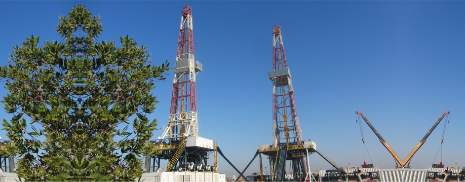 commissioning of two land rigs